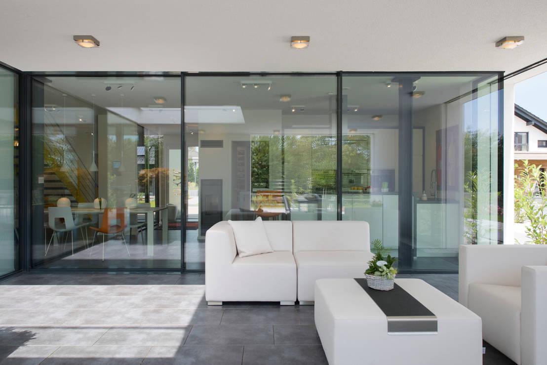 villa im bauhausstil f r okal von metallbau beilmann gmbh homify. Black Bedroom Furniture Sets. Home Design Ideas