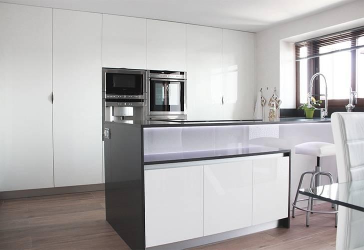 cocina moderna en madrid von l nea 3 cocinas madrid homify. Black Bedroom Furniture Sets. Home Design Ideas