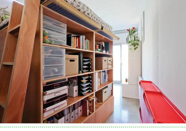 loft en les corts 37m2 von brigitte h bner homify. Black Bedroom Furniture Sets. Home Design Ideas