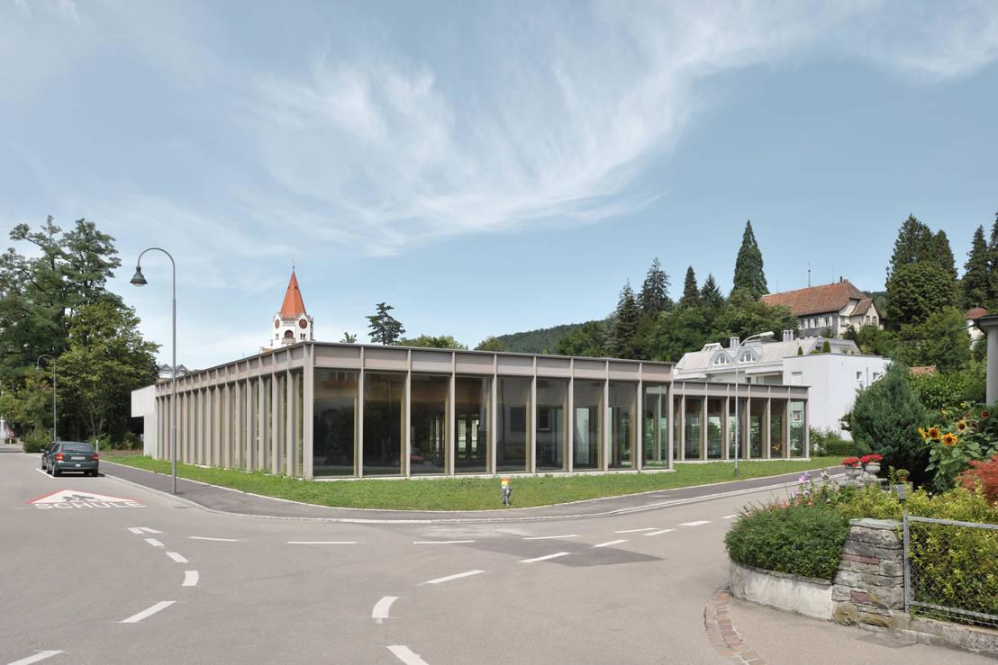 Neubau schulsporthallen ch weinfelden von graf biscioni architekten ag homify - Graf architekten ...