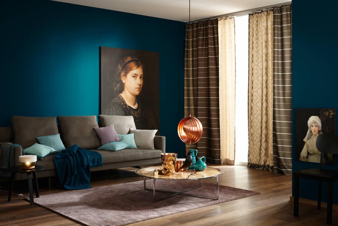die sechs neuen trendfarben 2015 von sch ner wohnen farbe homify. Black Bedroom Furniture Sets. Home Design Ideas