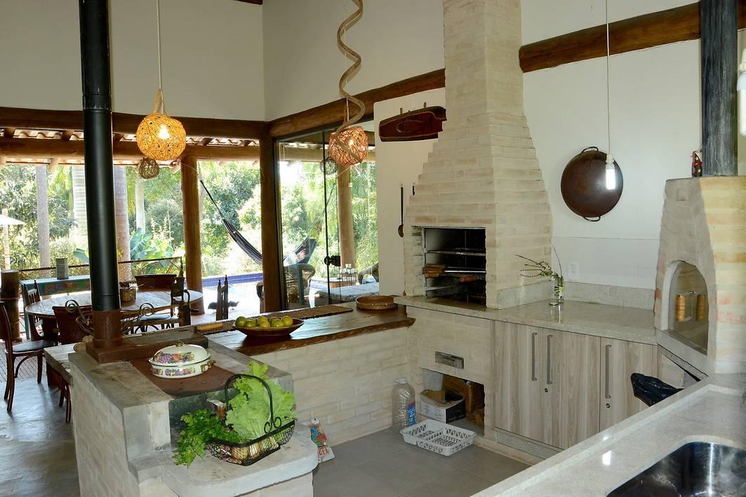 8 cocinas con hornos de ladrillo para que te las haga tu - Hornos para cocinas ...