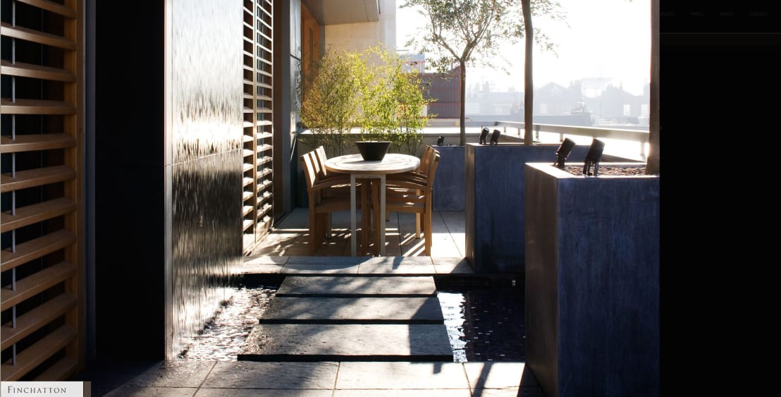 10 fuentes y muros llorones perfectos para patios peque os - Fuentes para patios ...