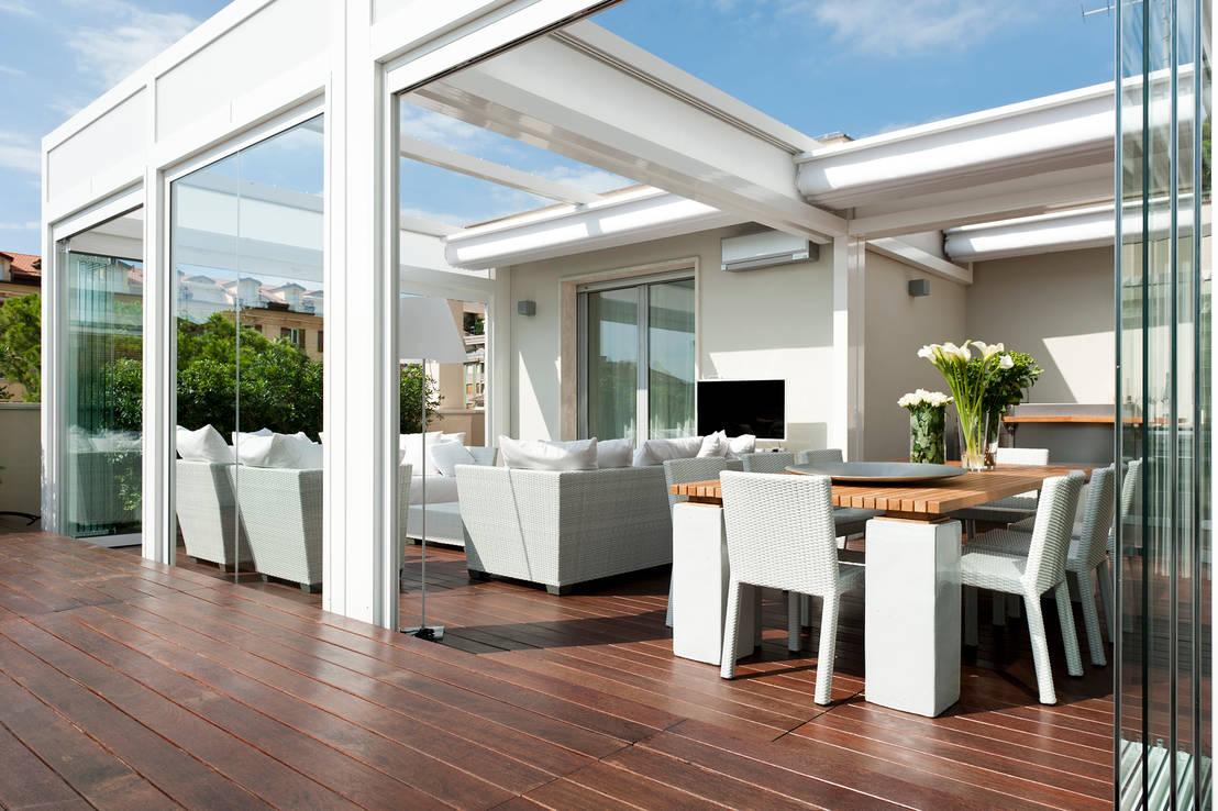 16 terrazas en la azotea que te inspirar n a dise ar la tuya - Comedores exteriores para terrazas ...