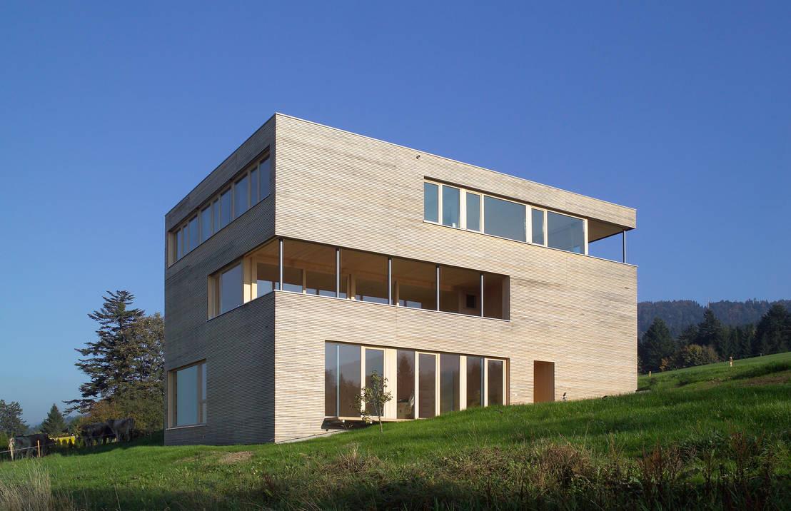 Wohnhaus s alberschwende di nachbaur w rter architekten for Case in stile nord ovest pacifico