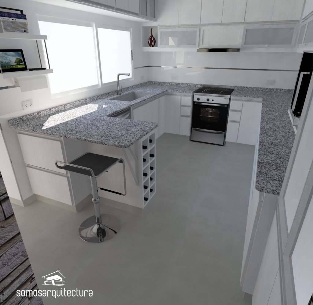 C mo distribuir el espacio en mi cocina for Como puedo disenar mi cocina