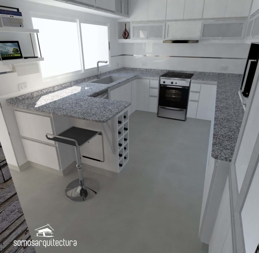 como distribuir o espa o na cozinha