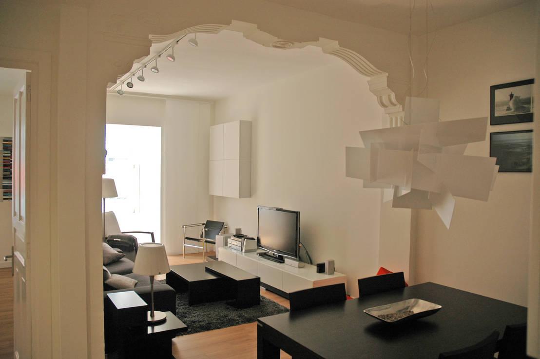Reforma de piso antiguo en puertochico santander di for Reformas de pisos antiguos