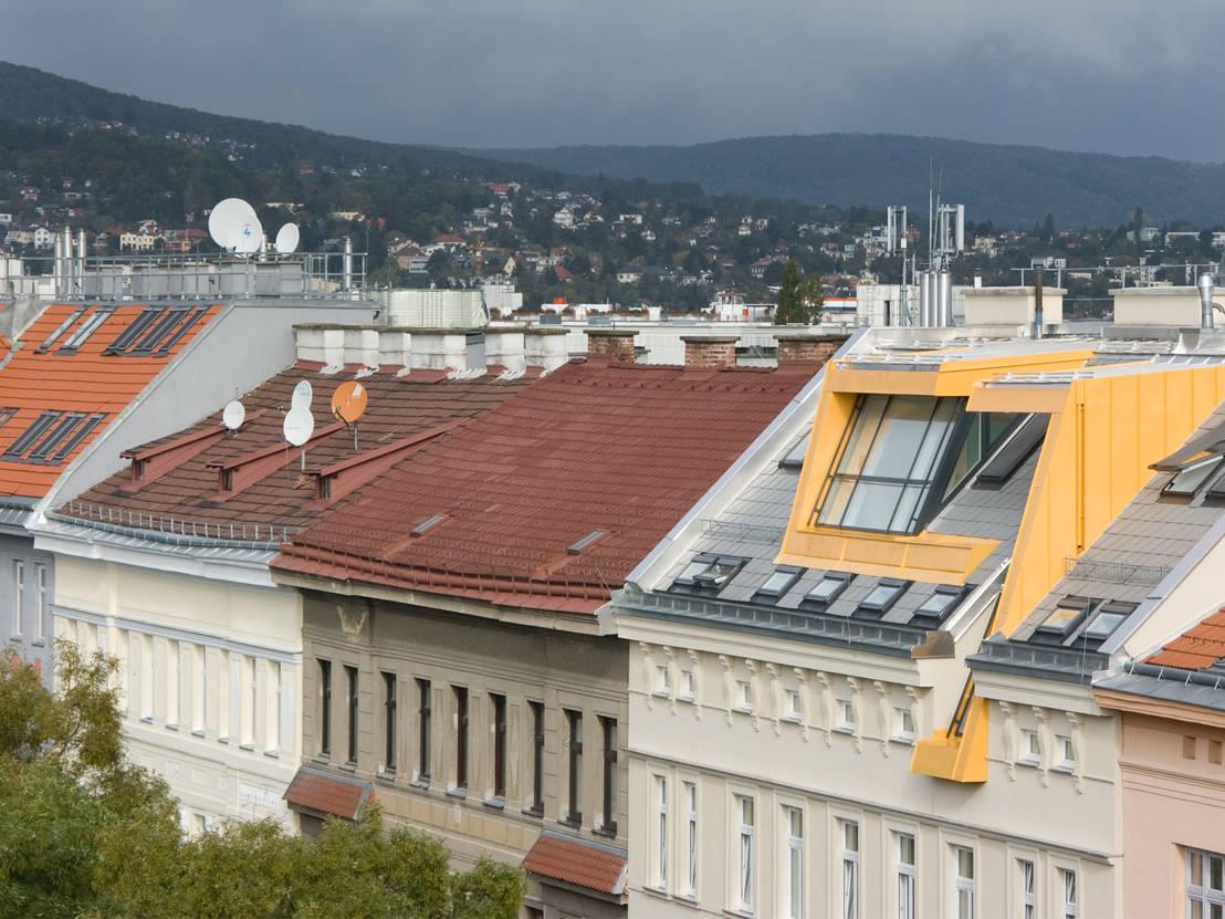 dachgeschossausbau 1150 wien by aichberger architektur zt homify. Black Bedroom Furniture Sets. Home Design Ideas
