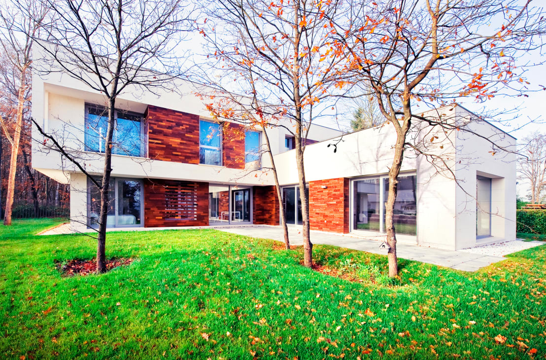 Casas modernas maravilloso chalet en el pa s vasco - Casas pais vasco ...