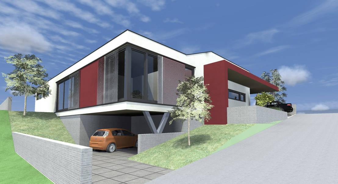 einfamilienhaus gaweinstal von architekt dipl ing helmut h rner homify. Black Bedroom Furniture Sets. Home Design Ideas