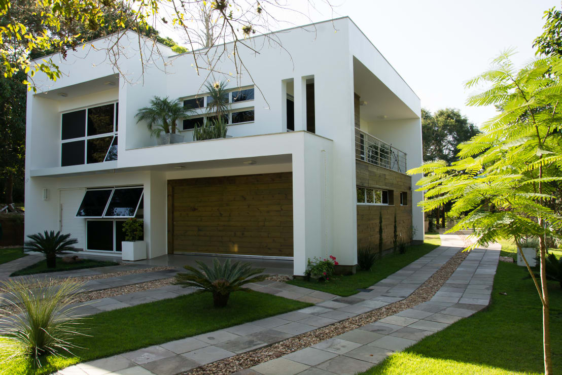 Casa guaiba rs por happy arquitetura homify for Homify casas