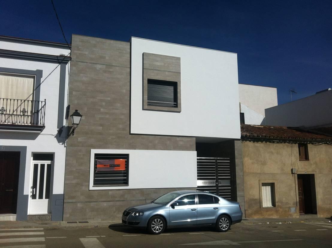 20 ideas de fachadas geniales para casas peque as - Ideas para fachadas de casas ...