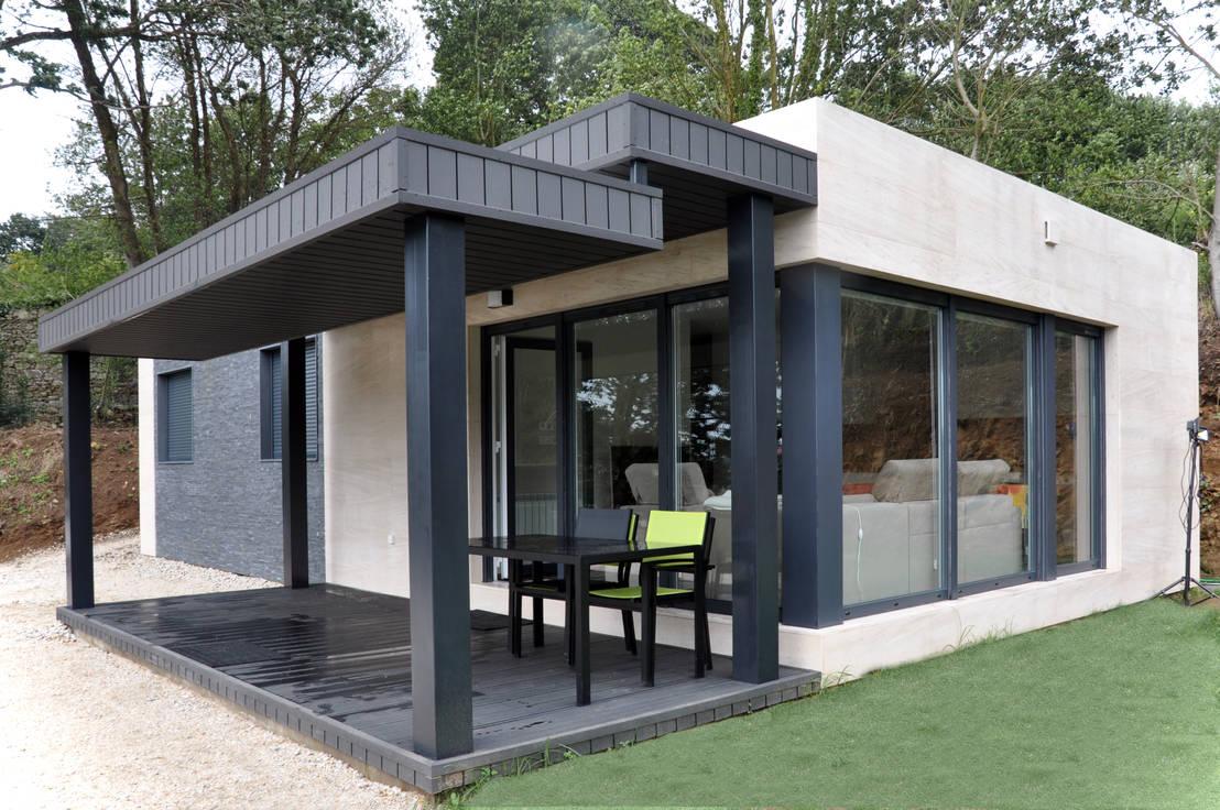 casas cube: casa prefabricada de 75 m2 de casas cube   homify