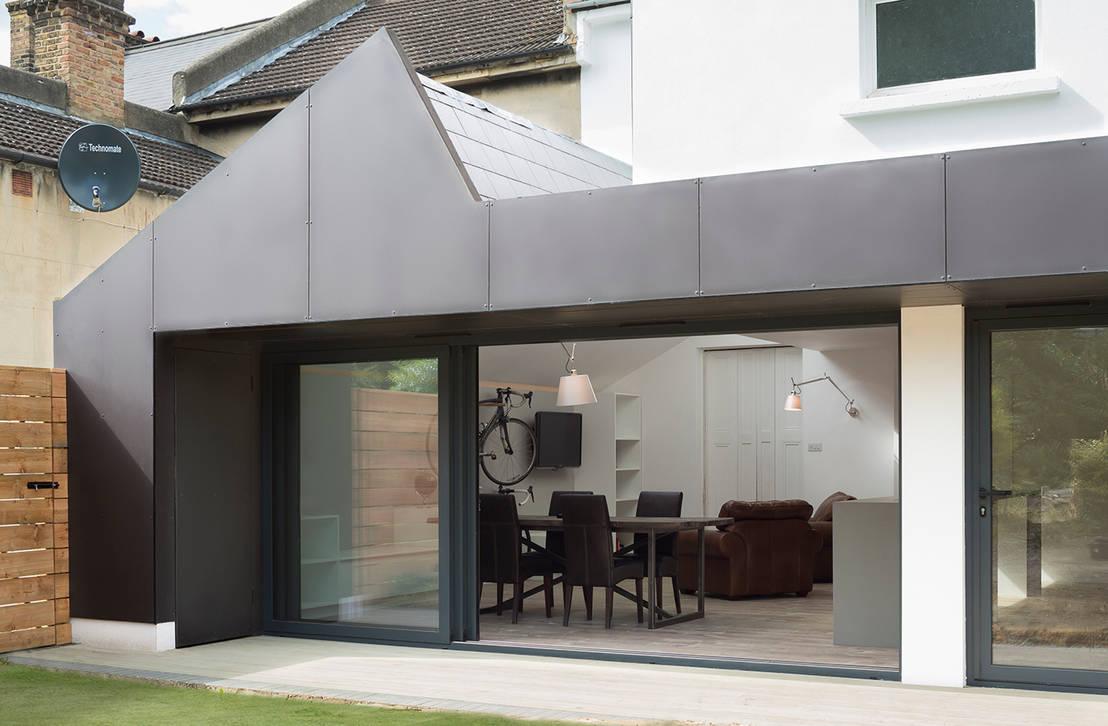 Prachtige uitbouw zorgt voor extra sfeer en ruimte - Organiseren ruimte voor een extra ...