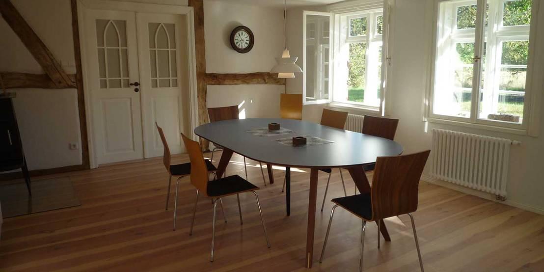 planungsgruppe barthelmey ferien im denkmal altes schifferhaus homify. Black Bedroom Furniture Sets. Home Design Ideas