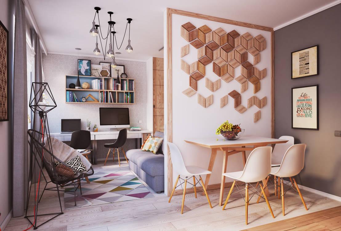 Apartament Verbi de Polygon arch&des  homify