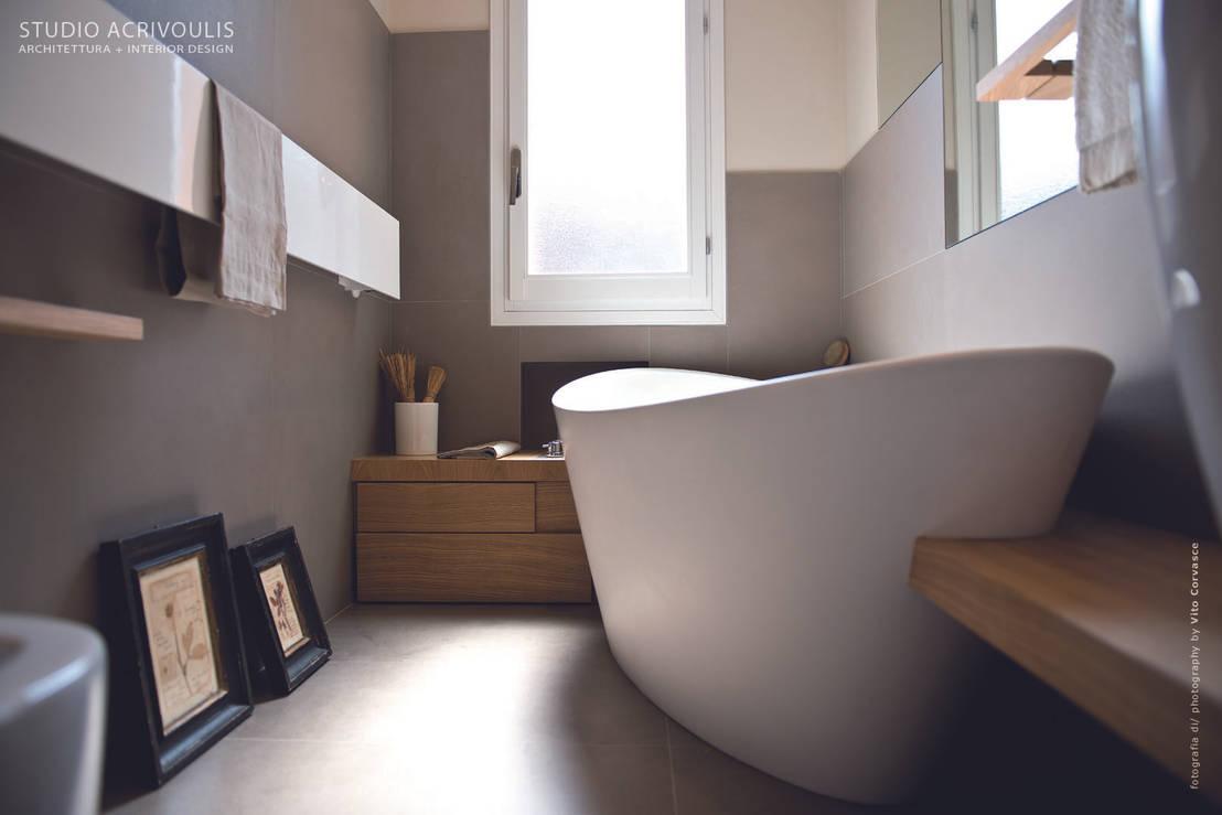 10 idee originali per l 39 arredo bagno moderno for Idee bagno moderno