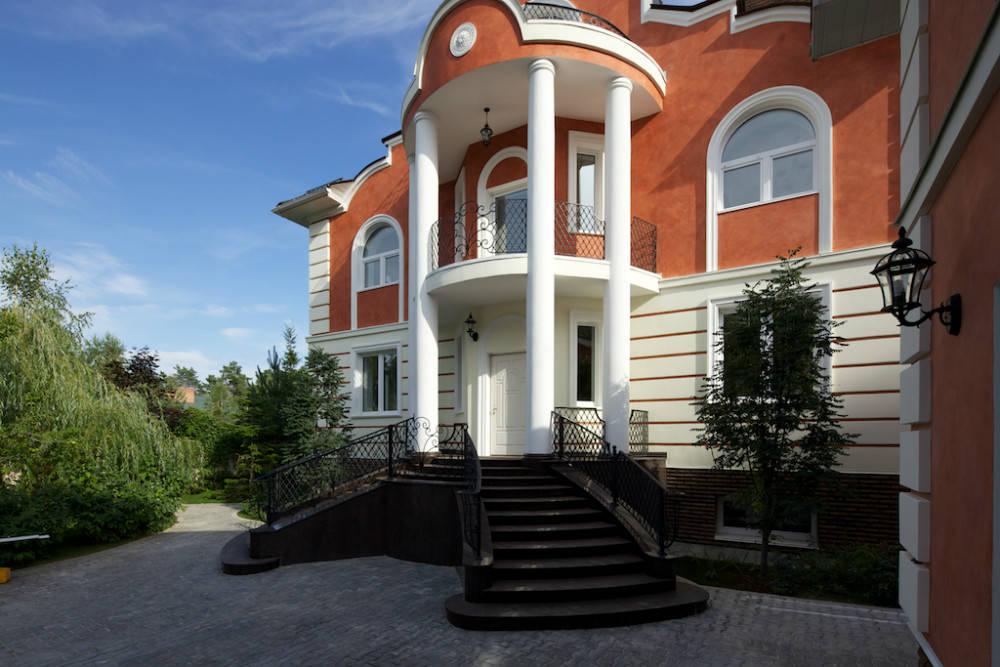 терракотовый цвет фасада дома купить термобелье