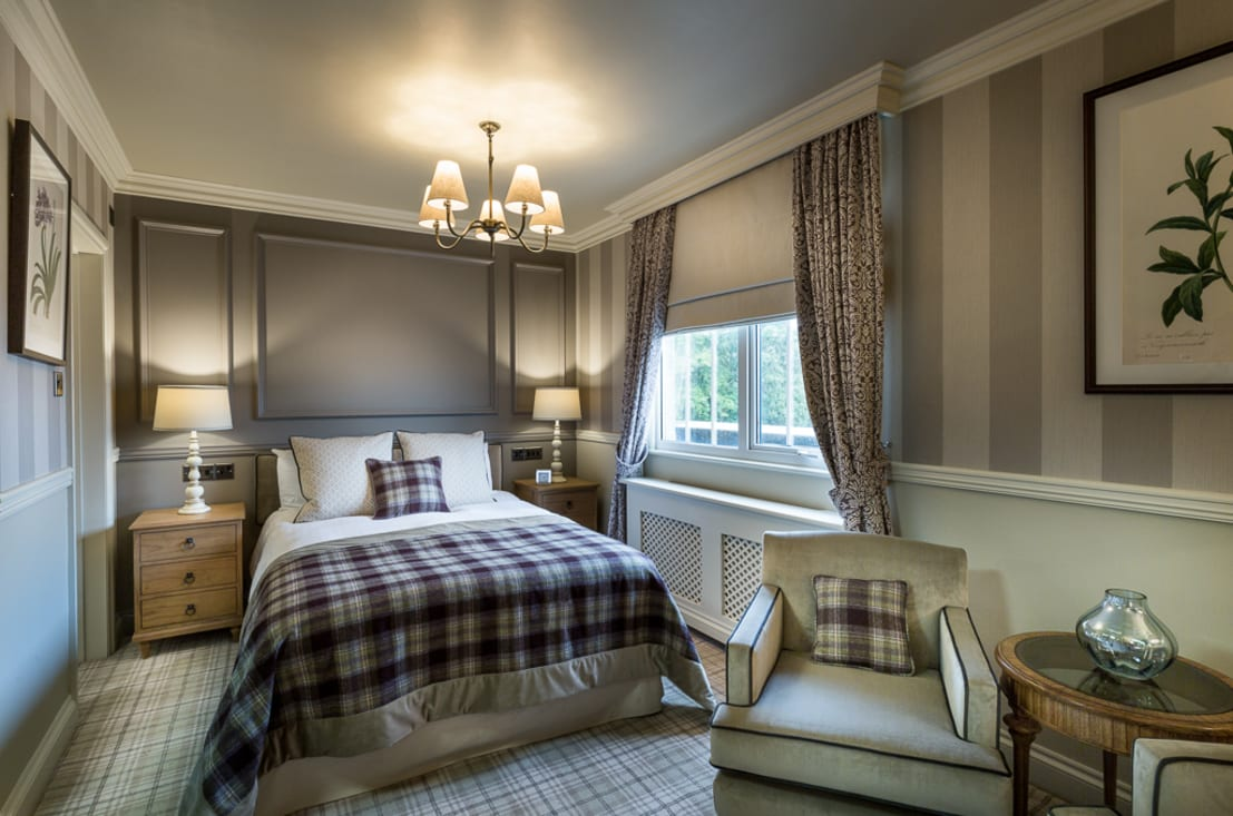 Down hall country house hotel bedroom refurbishment by for Country style bedroom suites