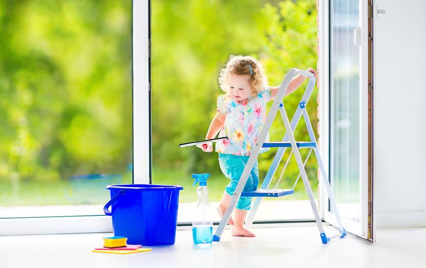 Putztipp Der Woche: Fenster Putzen Von BOOK A TIGER