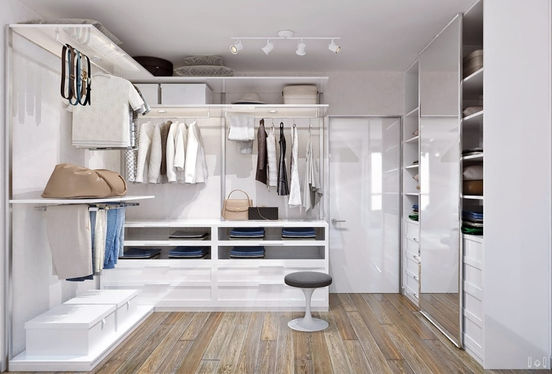 7 tipps f r den perfekten begehbaren kleiderschrank. Black Bedroom Furniture Sets. Home Design Ideas
