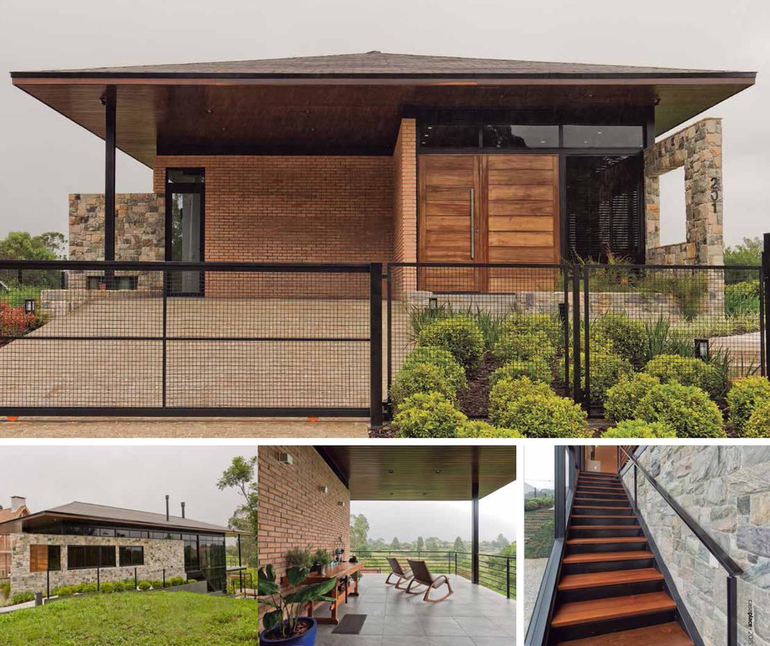 Casa de campo por union architectural concept homify for Homify casas de campo