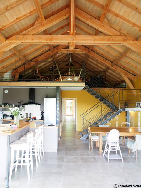 maison md von carre d 39 architectes homify. Black Bedroom Furniture Sets. Home Design Ideas