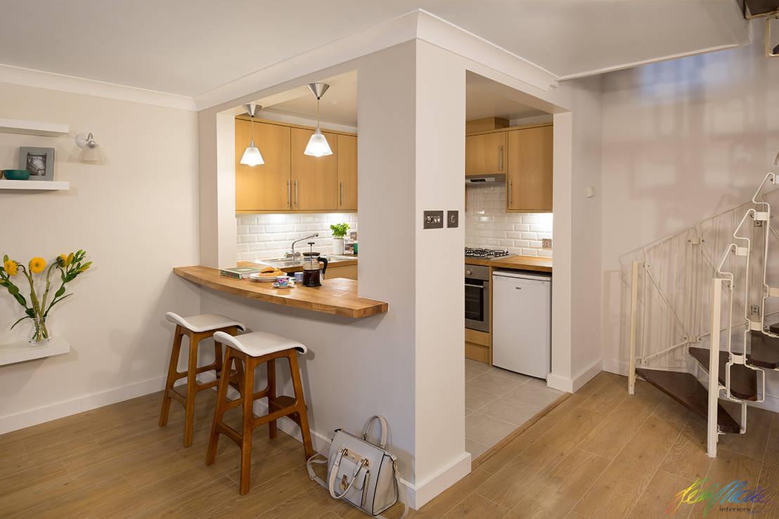 Cocinas semi abiertas 7 dise os listos para copiar for Disenos cocinas abiertas