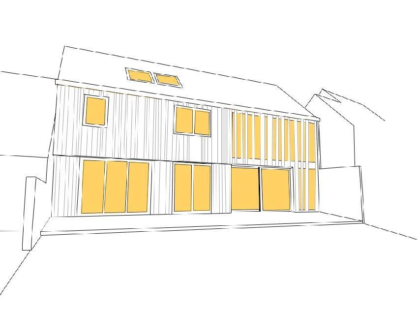 laus architectes mini maxi homify. Black Bedroom Furniture Sets. Home Design Ideas