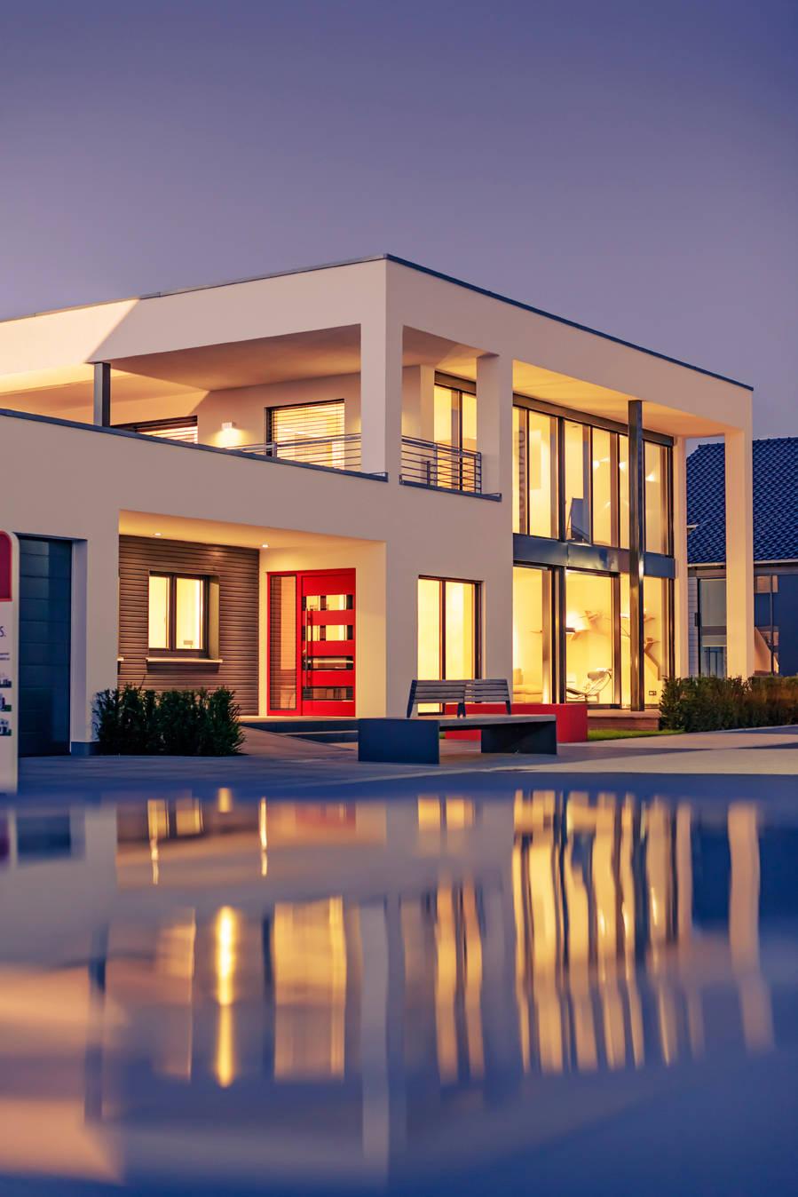 luxhaus musterhaus k ln by lopez fotodesign homify. Black Bedroom Furniture Sets. Home Design Ideas