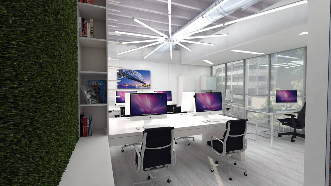 Oficinas grupofergo de arquitecto juan pablo fernandes for Blau hotels oficinas centrales