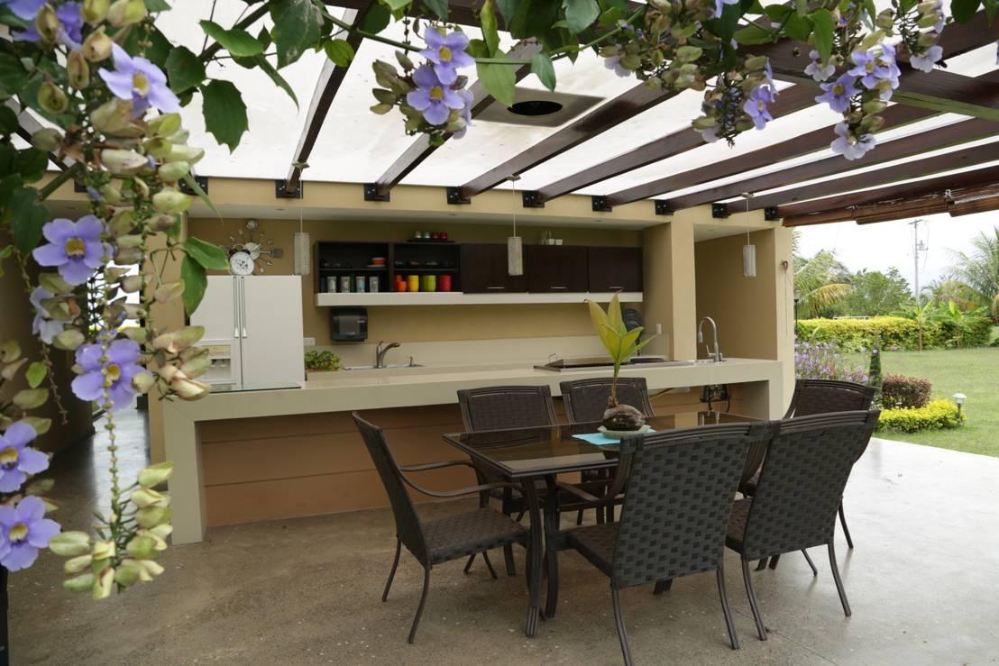 A prueba de todos los climas 7 techos para tu patio y for Estilos de techos para patios