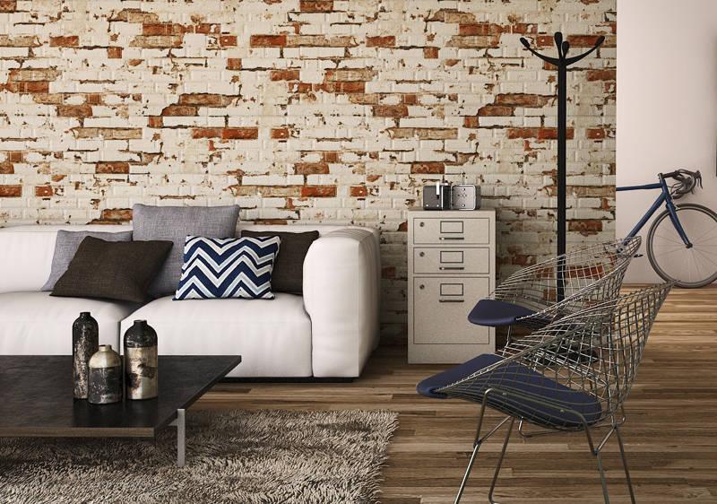 Azulejos para fachadas o paredes de estilo piedra por for Imitacion ladrillo interior