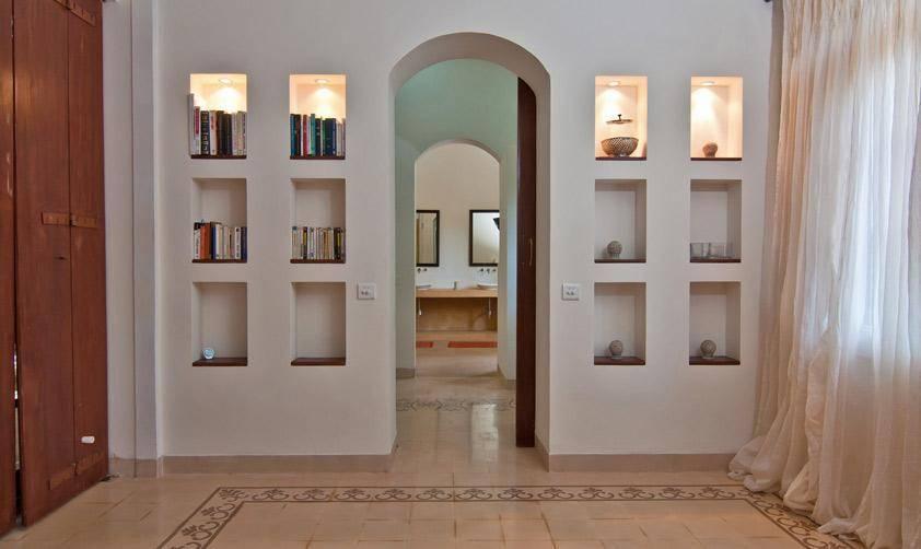 16 ideas para decorar las paredes con huecos se ver n - Vajillas cuadradas modernas ...
