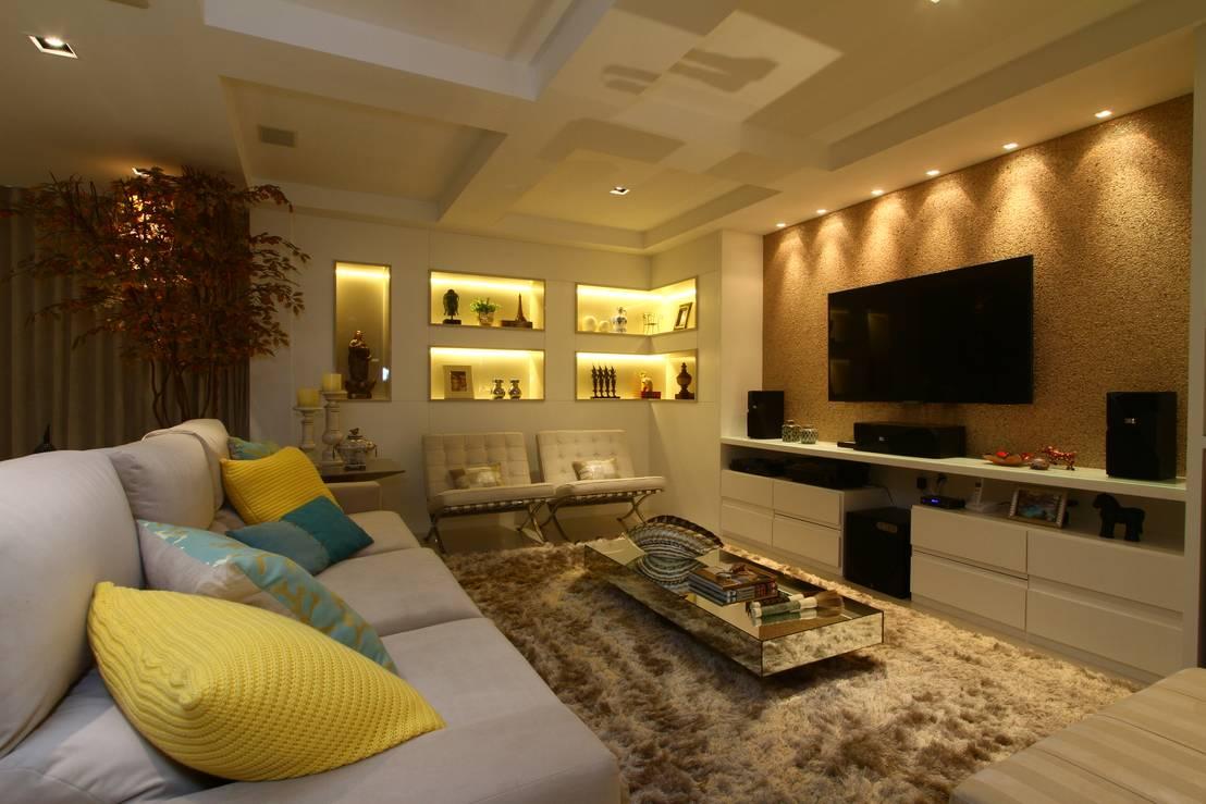 32 salas impresionantes con muchas ideas para inspirarte for Estilo moderno interiores