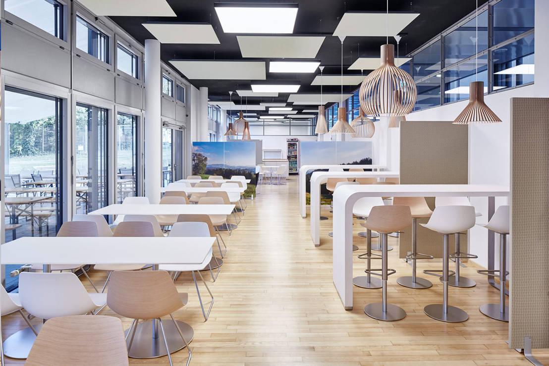 cafeteria - fraunhofer ise, freiburgdomani interior