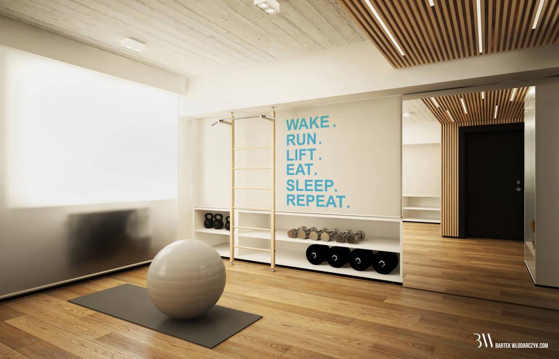 Fitnessraum Einrichten | Badezimmer, Schlafzimmer, Sessel & Möbel ...