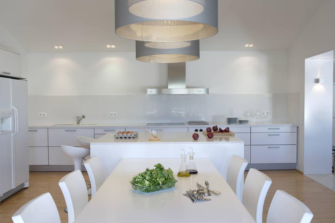 weiße wohnung mit wow-faktor - Weisse Wohnung Futuristisch Innendesign