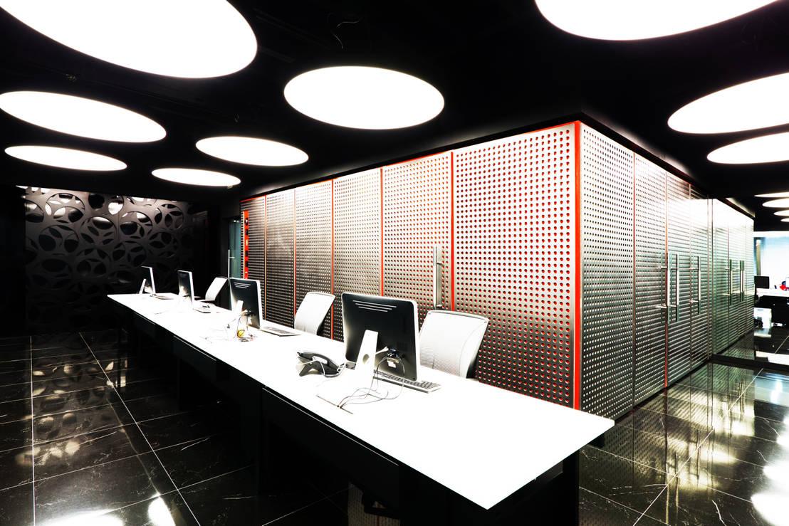 Oficinas corporativas abanto capital de tragaluz estudio for Estudio de arquitectura