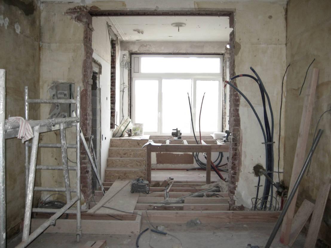 Une r novation vraiment poustouflante - Abbattimento muro interno senza dia ...