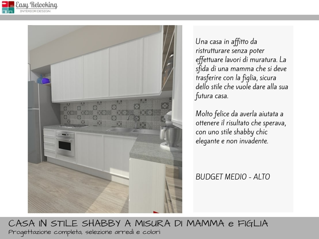 Una casa in stile shabby chic by Easy Relooking | homify