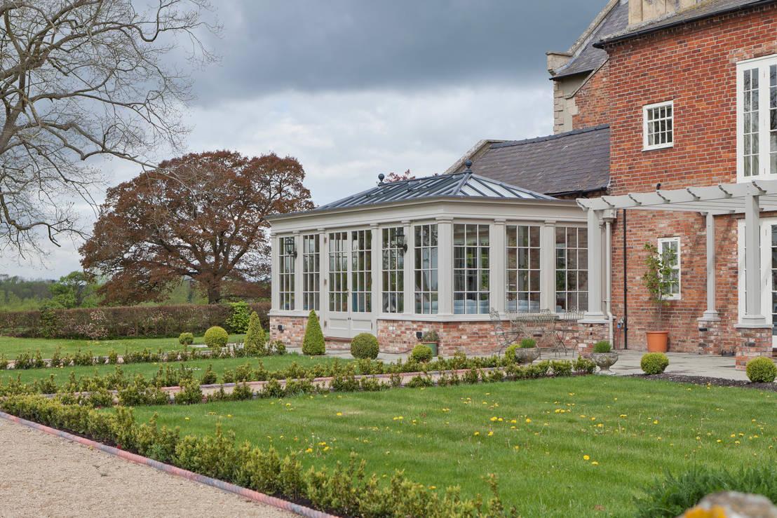 vale garden houses a living room conservatory homify. Black Bedroom Furniture Sets. Home Design Ideas