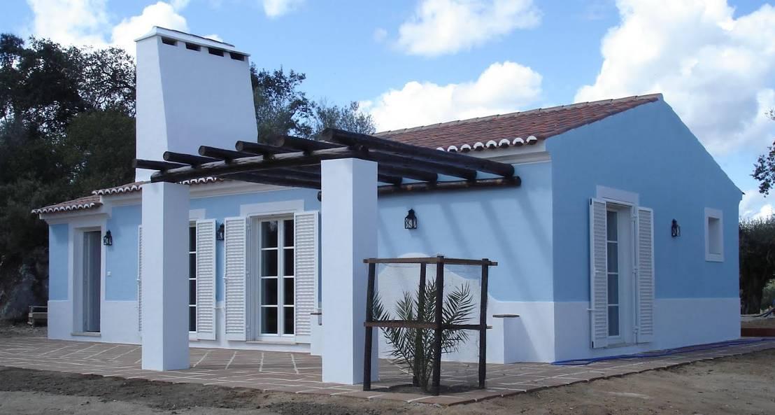 Casa rural simples e bonita - Ideas para construir casas campo ...