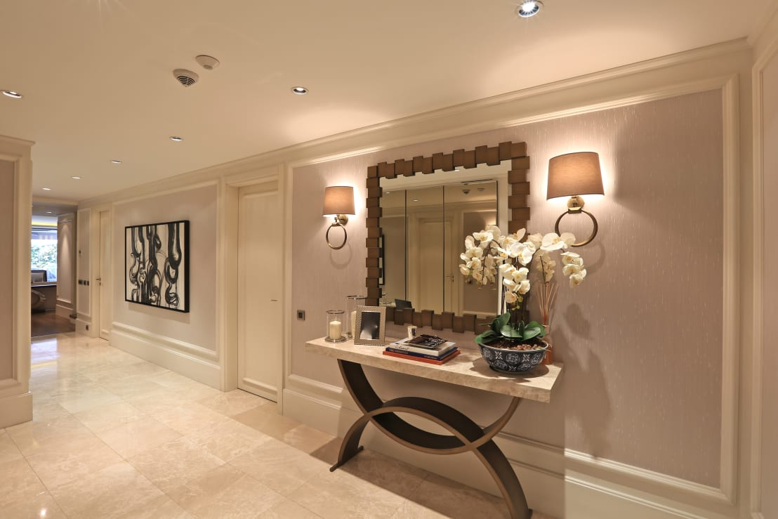 10 ideas fabulosas para decorar entradas y pasillos - Entradas y pasillos ...