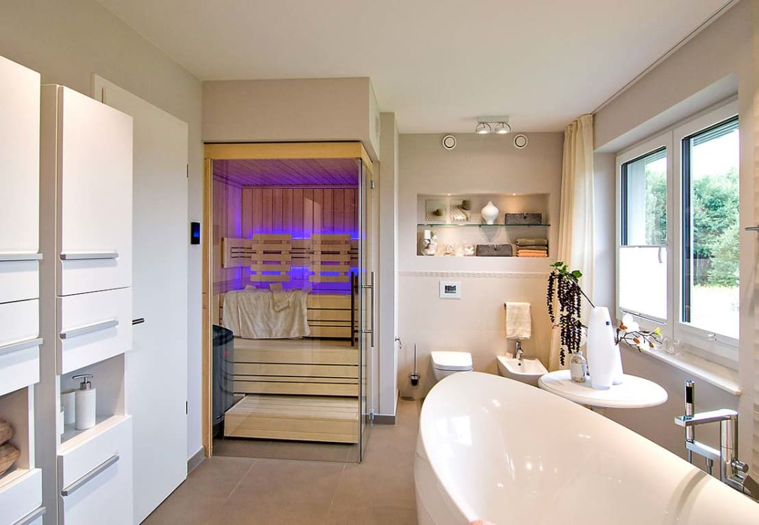 helo saunakabinen de helo gmbh homify. Black Bedroom Furniture Sets. Home Design Ideas