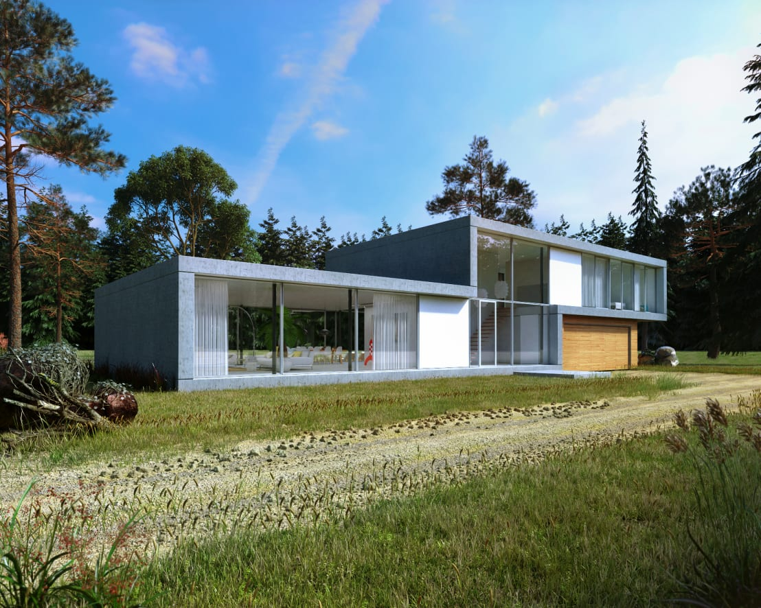 Moderne villa op de veluwe door villa delphia homify - Foto moderne villa ...