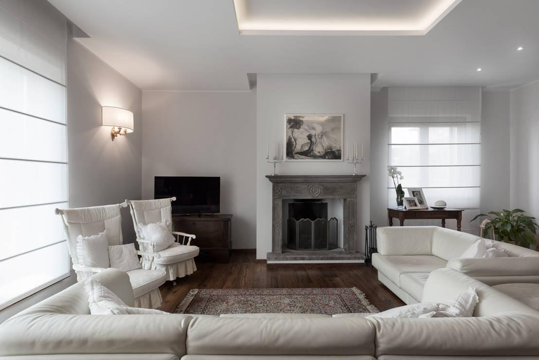 I neutri perfetti di melissa giacchi architetto d 39 interni for Foto di sale moderne