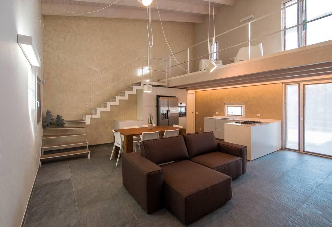 Una casa in legno che sa essere minimal - Vorrei costruire una casa in legno ...