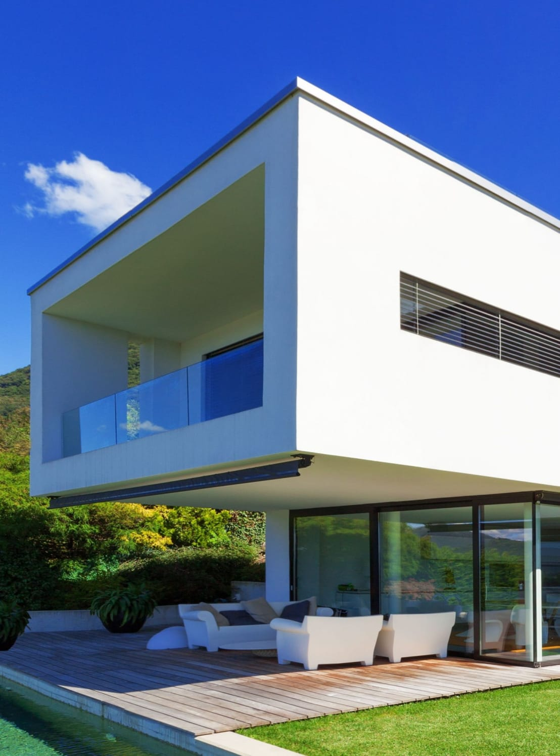 maison ultra contemporaine by concept creation homify. Black Bedroom Furniture Sets. Home Design Ideas